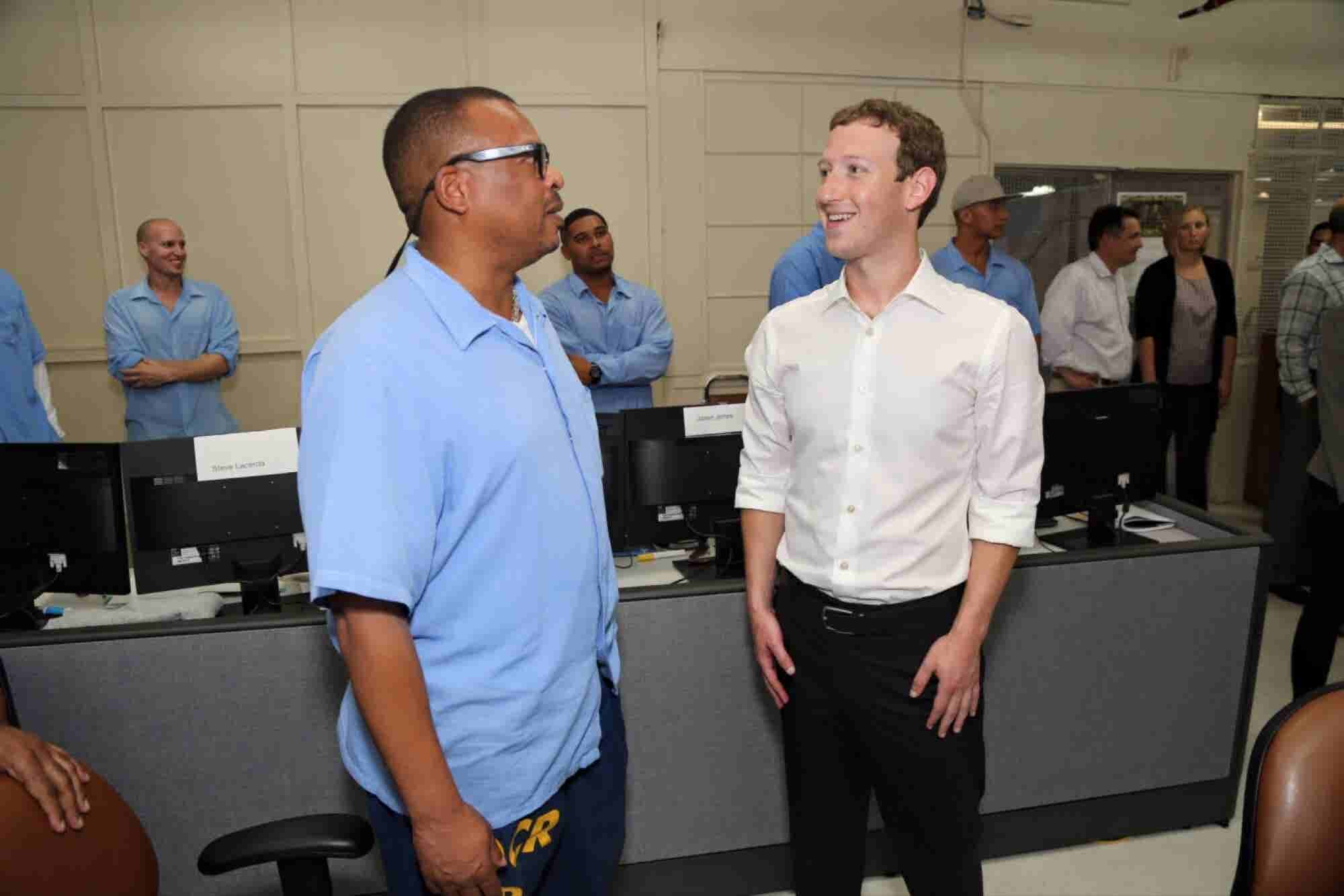 Zuckerberg's Prison Visit Shows That Great Opportunities Appear in the Most Unlikely Places