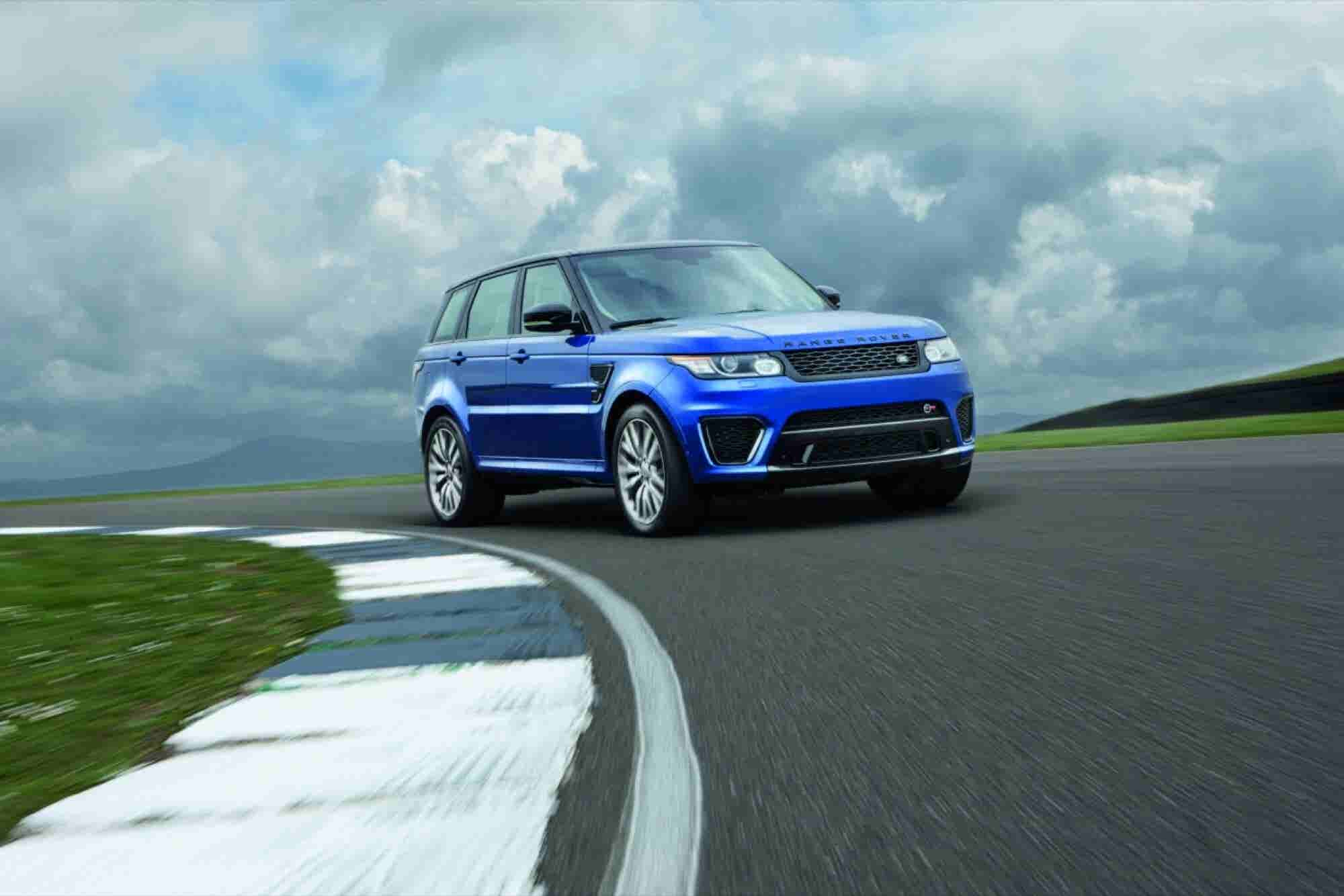 'Treps Choice: Land Rover's All New Range Rover Sport SVR