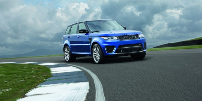 'Treps Choice: Land Rover's All New Range Rover Sport SVR