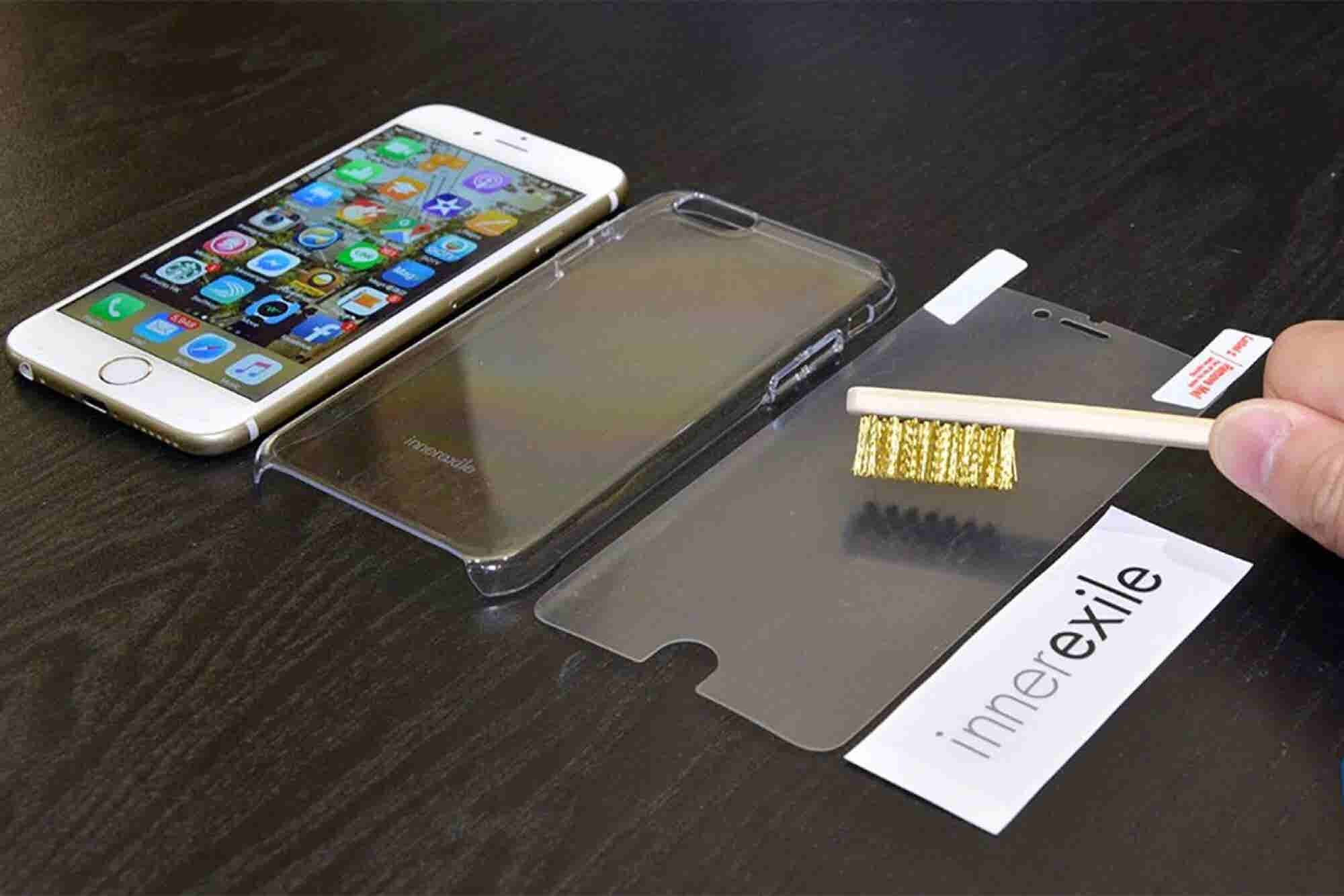 This iPhone Screen Protector Can Reverse Scratches in a Second