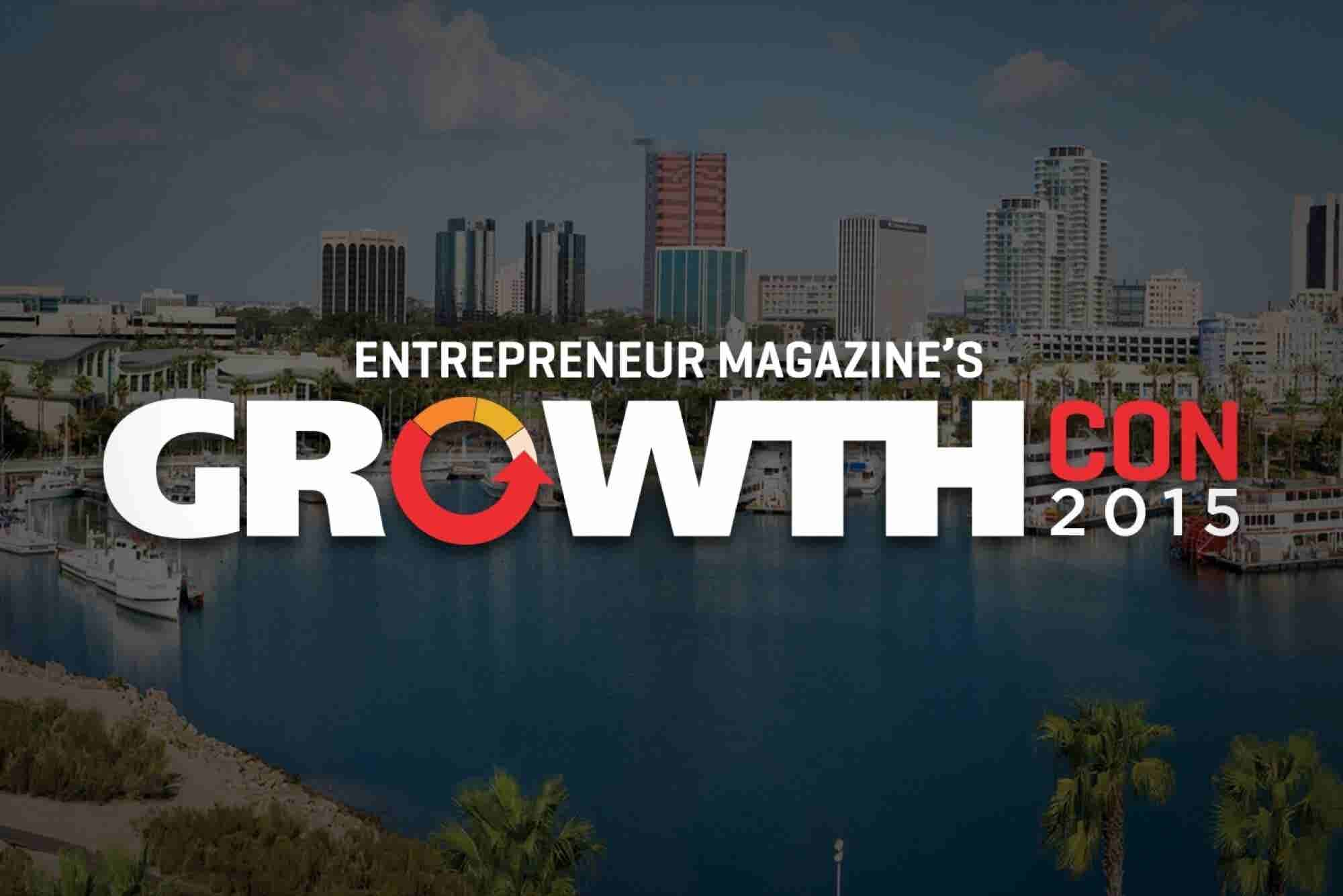 Join Us at GrowthCon 2015 for a Day of Inspiration and Insight
