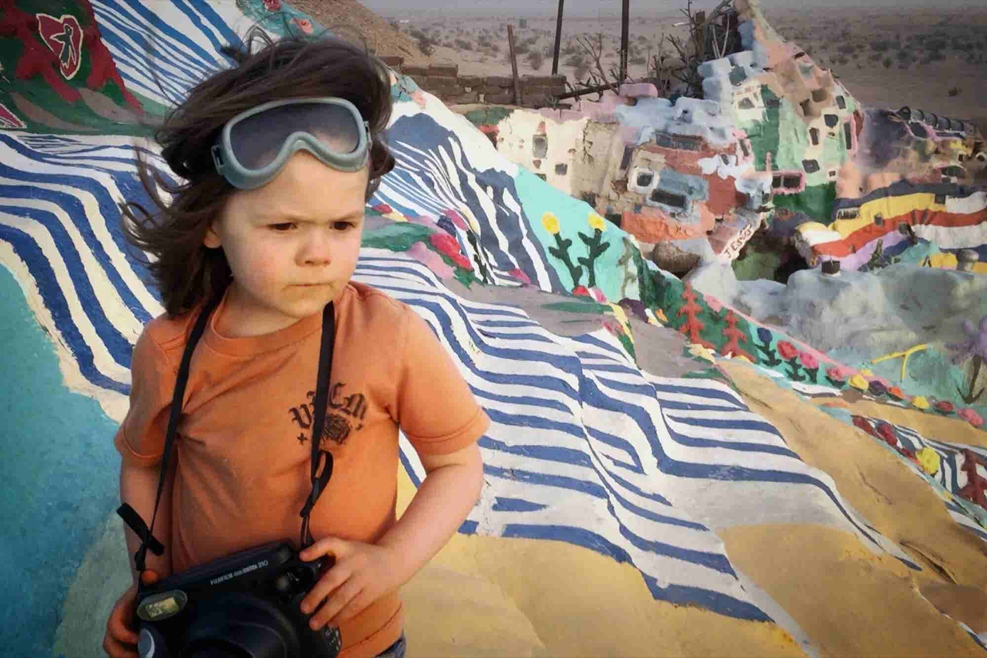 This 5-Year-Old Photographer With 160,000 Instagram Followers Just Kickstarted His Own Book