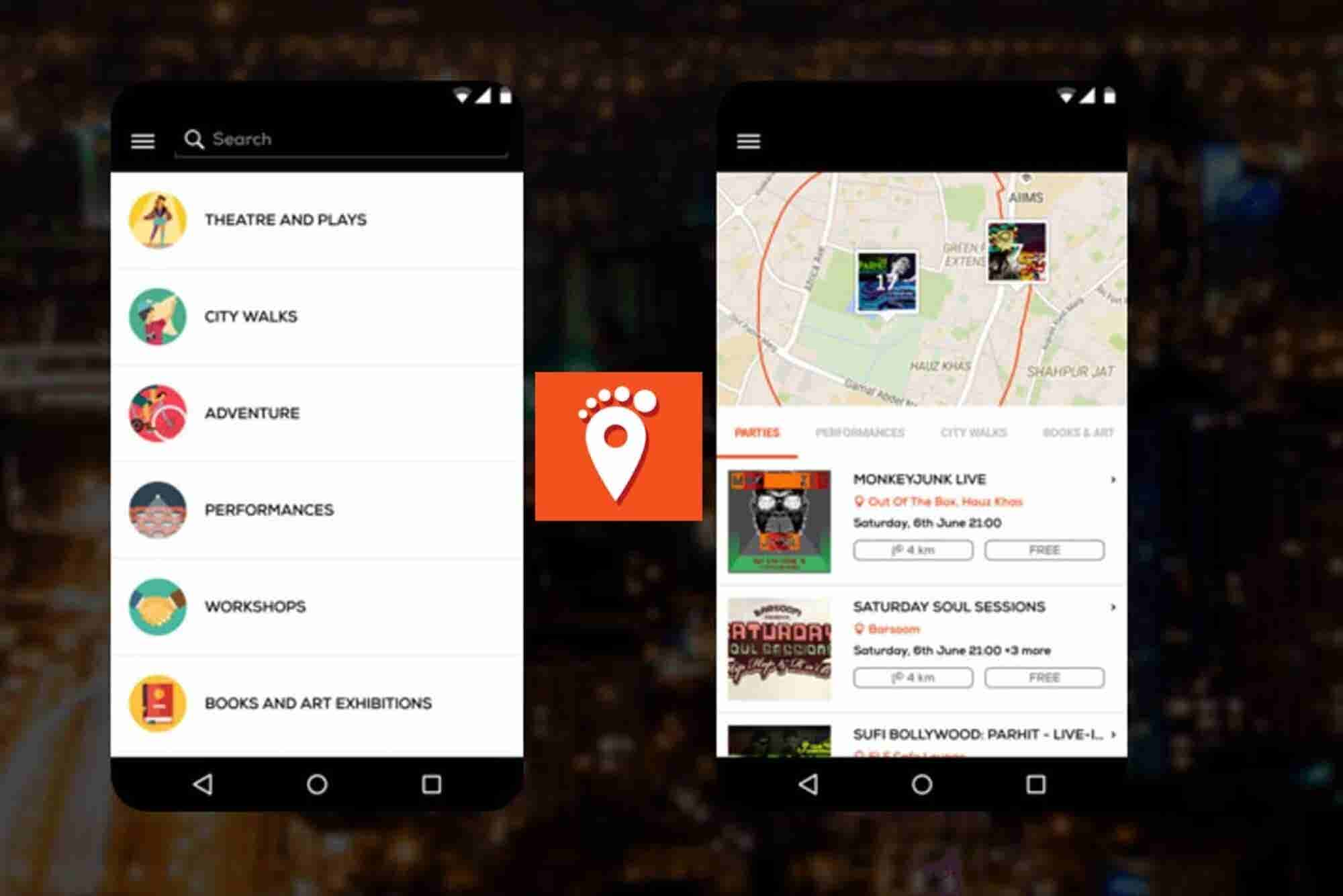 TownTrot: Never miss on an interesting event happening around you!