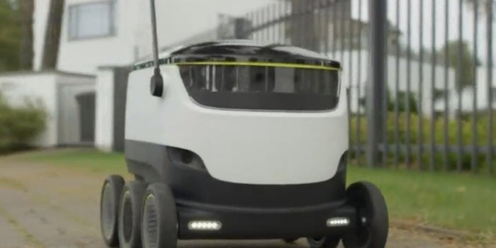 Forget Drones: These Delivery Robots Prefer the Sidewalk