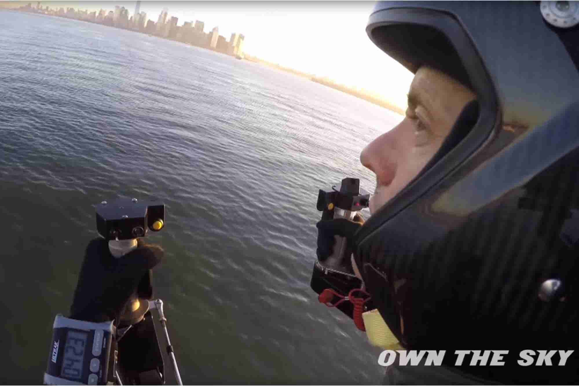 Watch This Jetpack-Wearing Entrepreneur Rocket Past the Statue of Liberty (VIDEO)