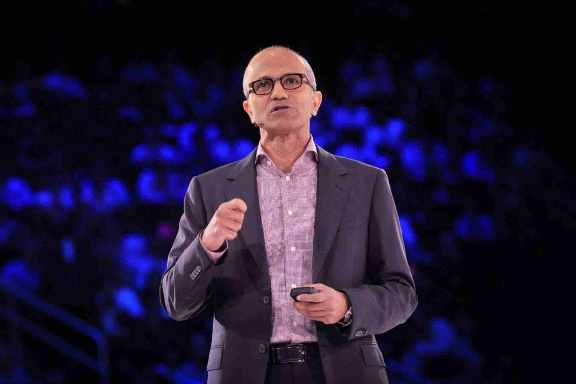 In Microsoft's Future, You'll Get Most of Your Tasks Done by Talking to Your Phone