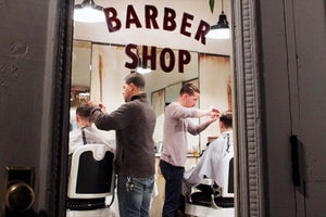 What's in a Name? Ask the Blind Barber, a Salon That Offers More Than Meets the Eye.