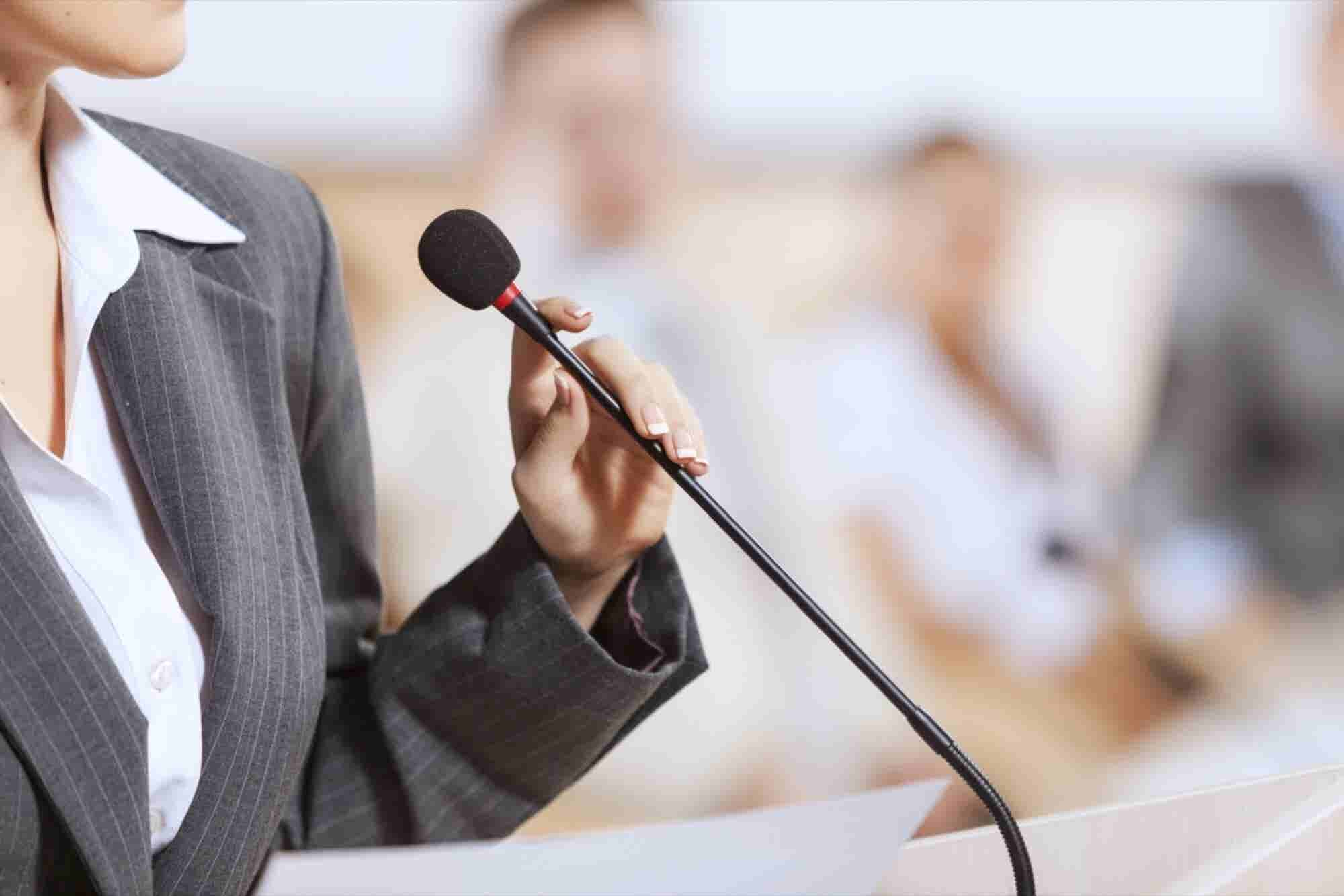 Not Crazy About Public Speaking? Few of Us Are. Here Are 7 Pointers to Help.