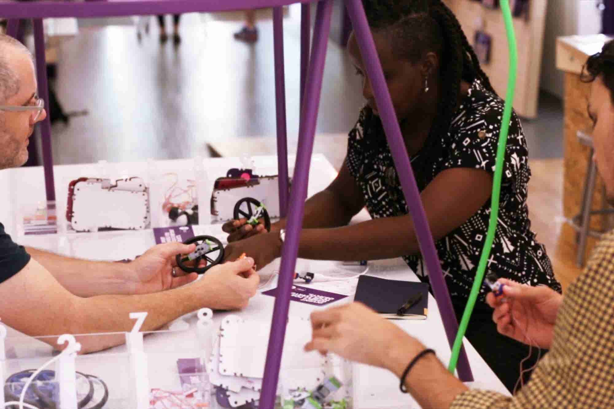 Littlebits Founder: Want Kids Excited About STEM? Make Sure Parents Ar...