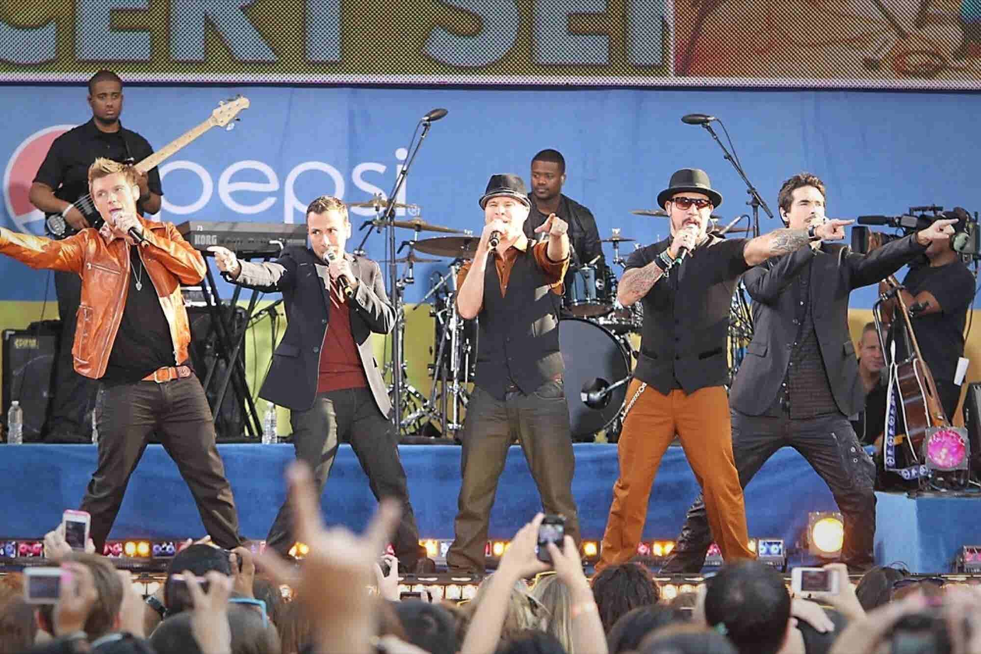 I Get to Work With the Backstreet Boys. Here's How You Can Land Your Dream Client.