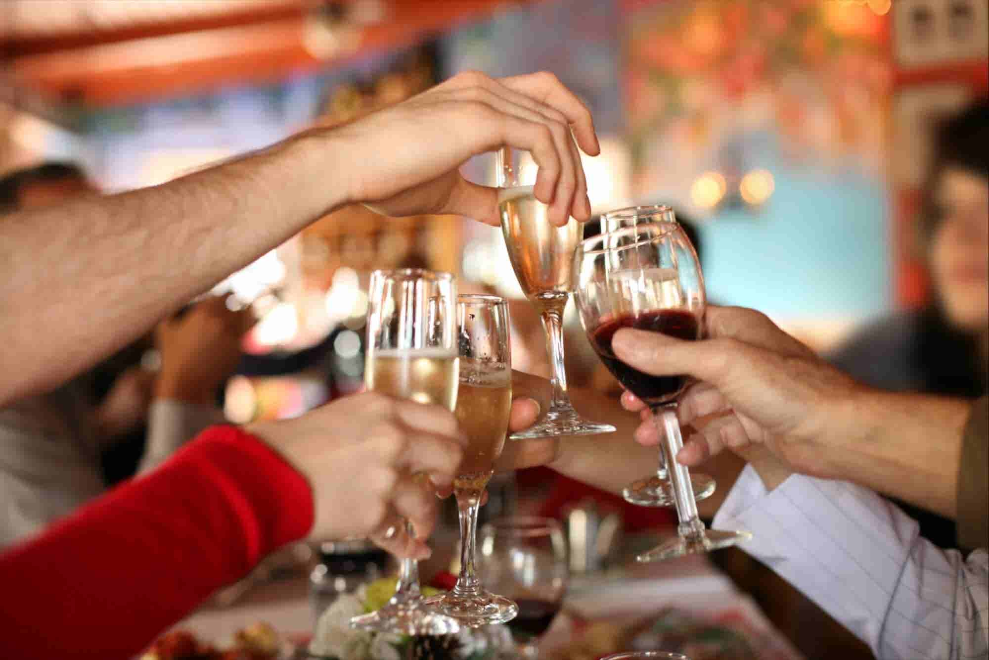 Why Entrepreneurs Should Pop Champagne More Often