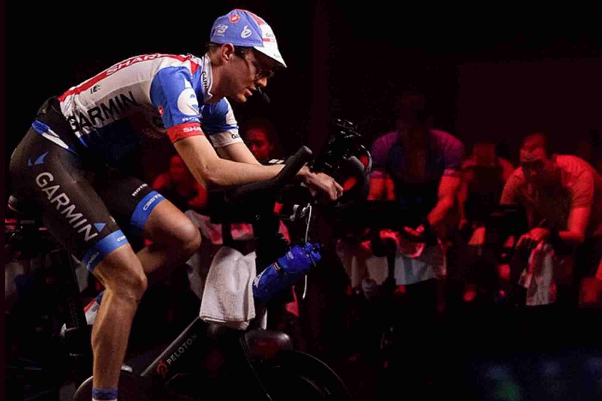 Inside This Cycling Startup's High-Tech Livestreaming Studio