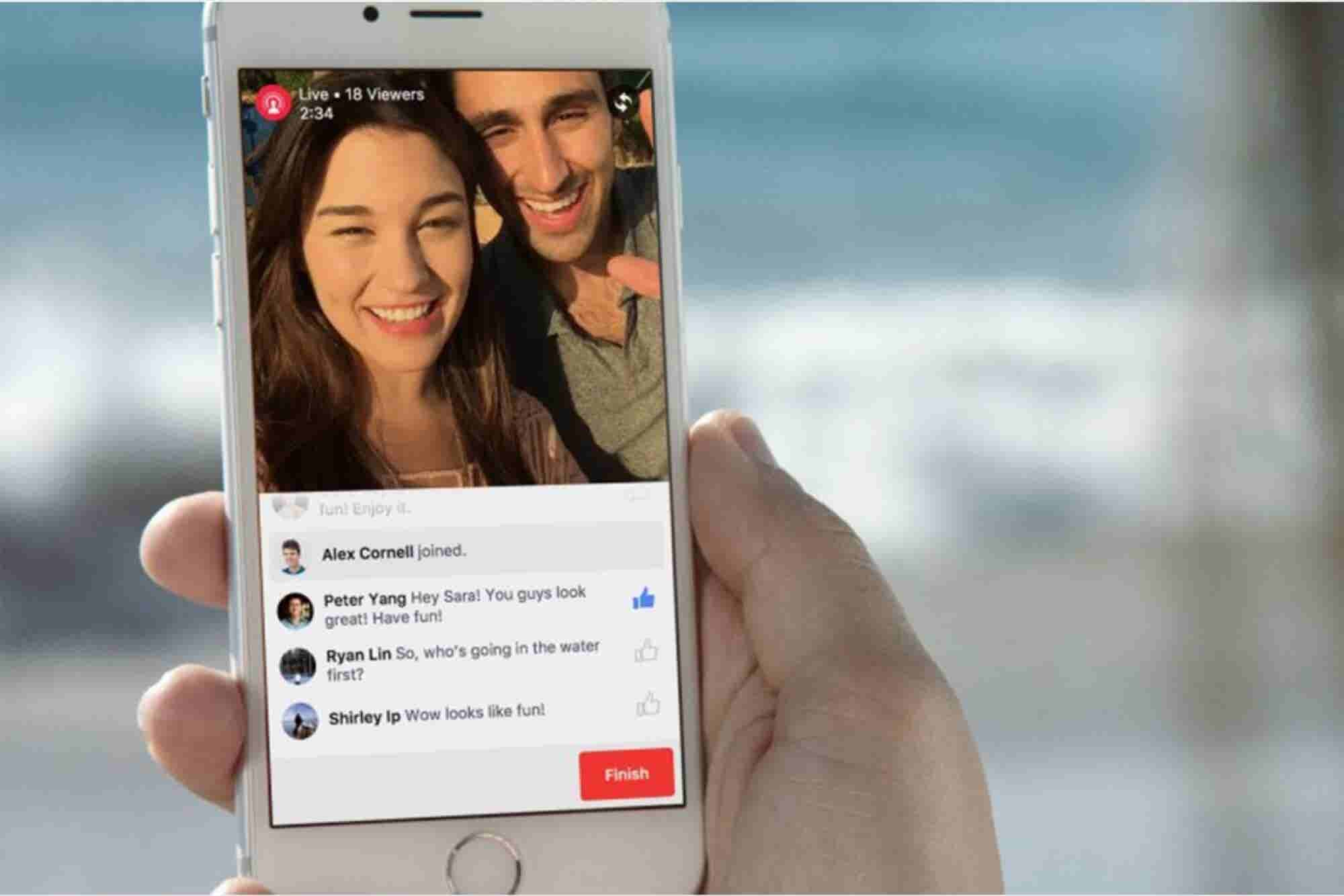 Periscope-Like Live Video Streaming Comes to Everyday Facebook Users