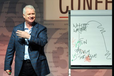 Les McKeown on Surviving Your 'Whitewater' Period