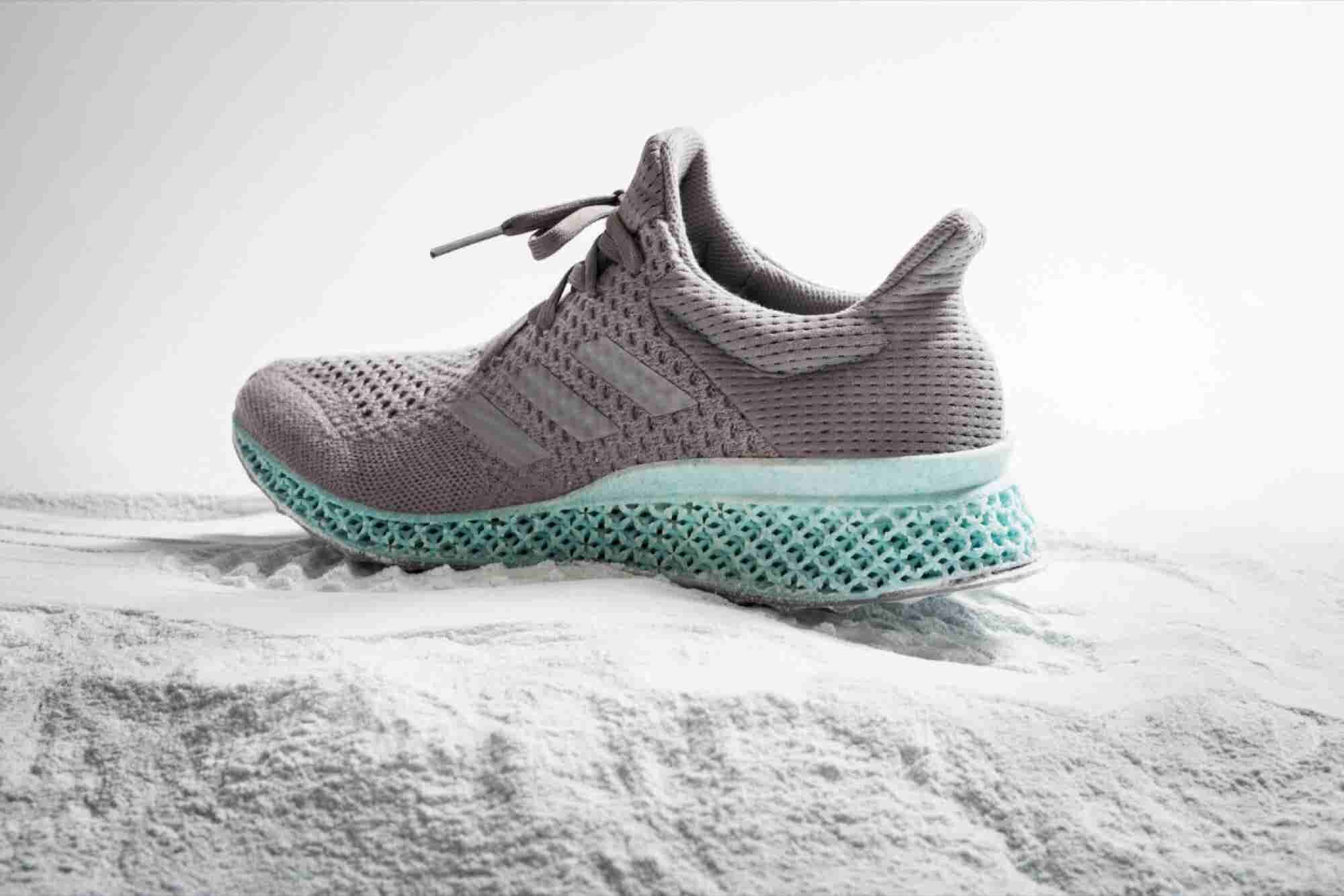 Adidas Made a 3-D Printed Shoe Out of Plastic Waste From the Ocean