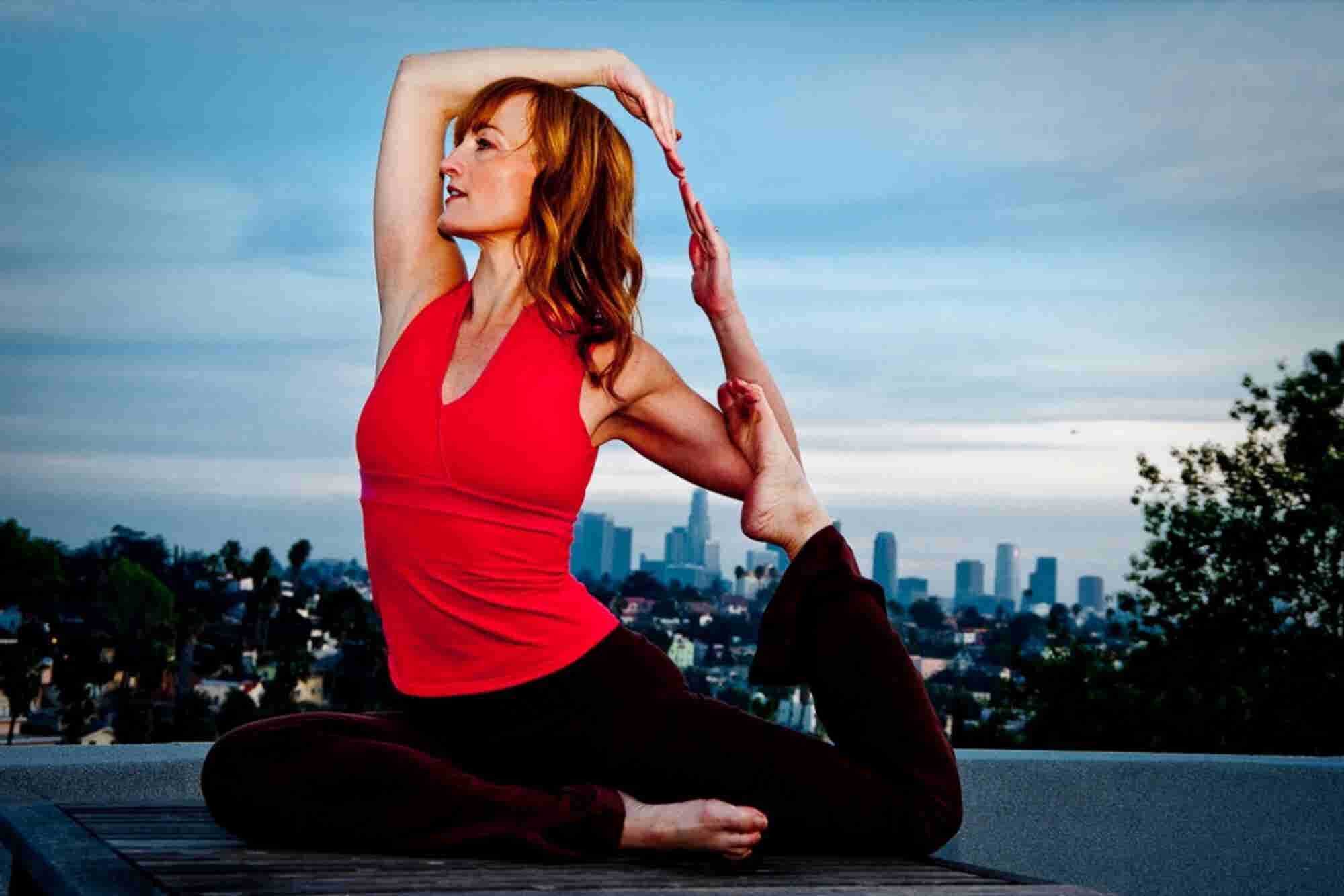 Om at the Office: This Mobile Yoga Studio Stretches Limbs and Bottom Lines