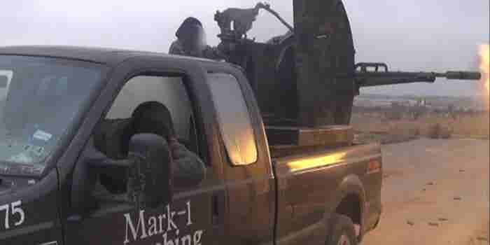 How a Small-Time Texan Plumber's Truck Ended Up in the Hands of Syrian Extremists
