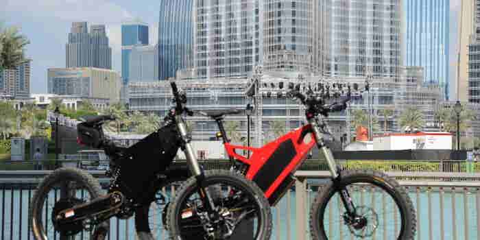 For The Fitness Fanatic: EBikes Stealth B-52