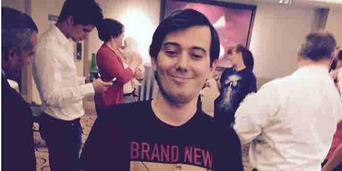 'Pharma Bro' Martin Shkreli Steps Down as CEO of Turing Pharmaceuticals