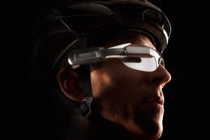 This Bike Headset Warns About Traffic Behind You