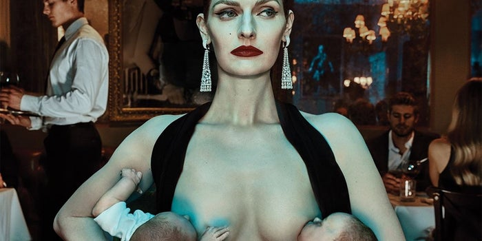 With Orgying Models and Public Breastfeeding, Are Equinox's Latest Ads a Desperate Ploy or Pure Genius?