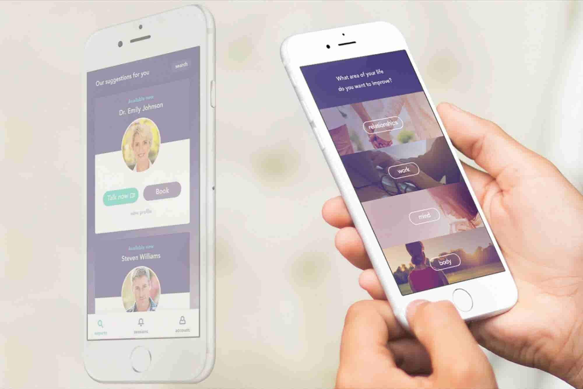 Insta-Zen: New App Connects You With a Coach or Therapist Over Live Video