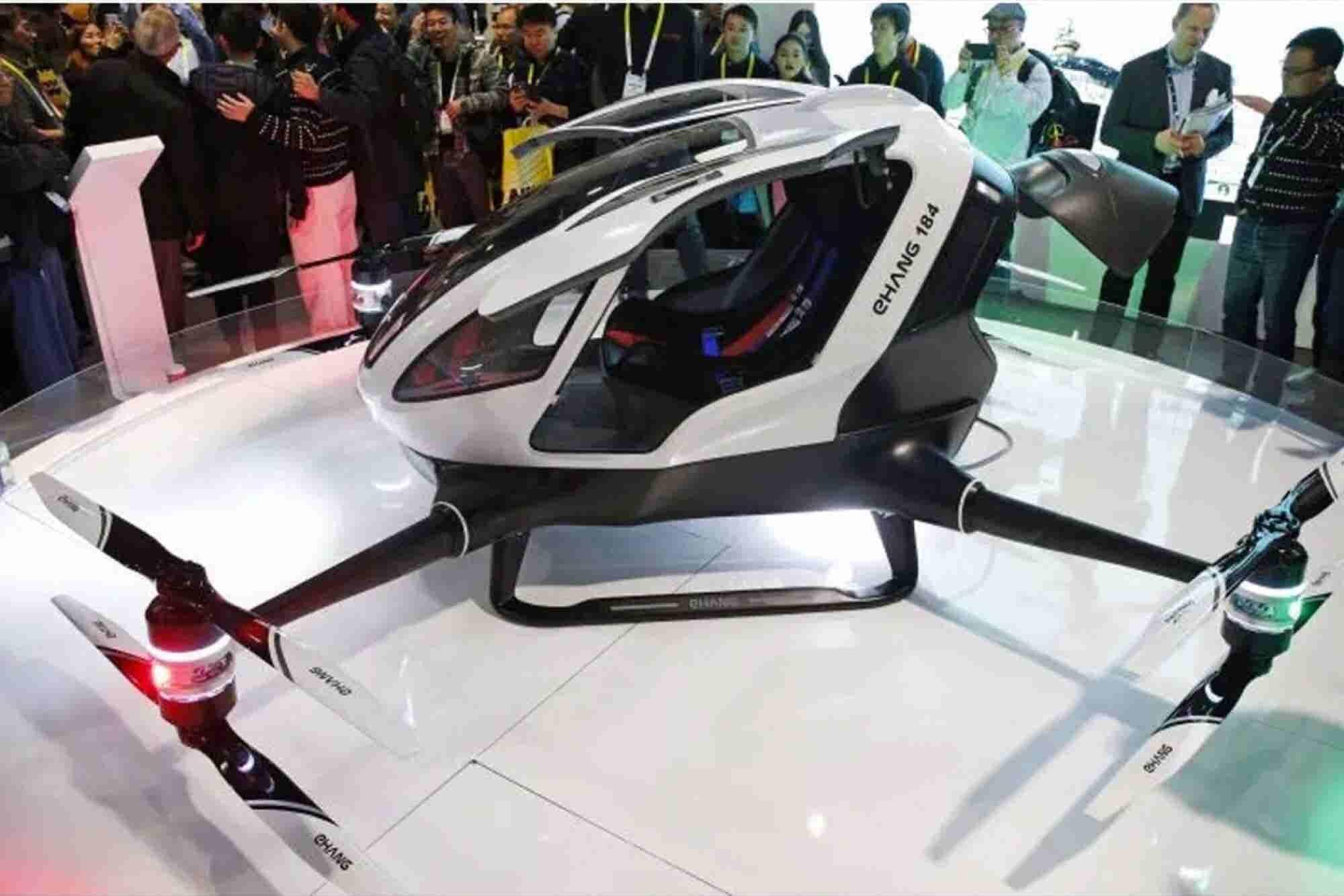 First Autonomous, Human-Sized Drone Revealed at CES