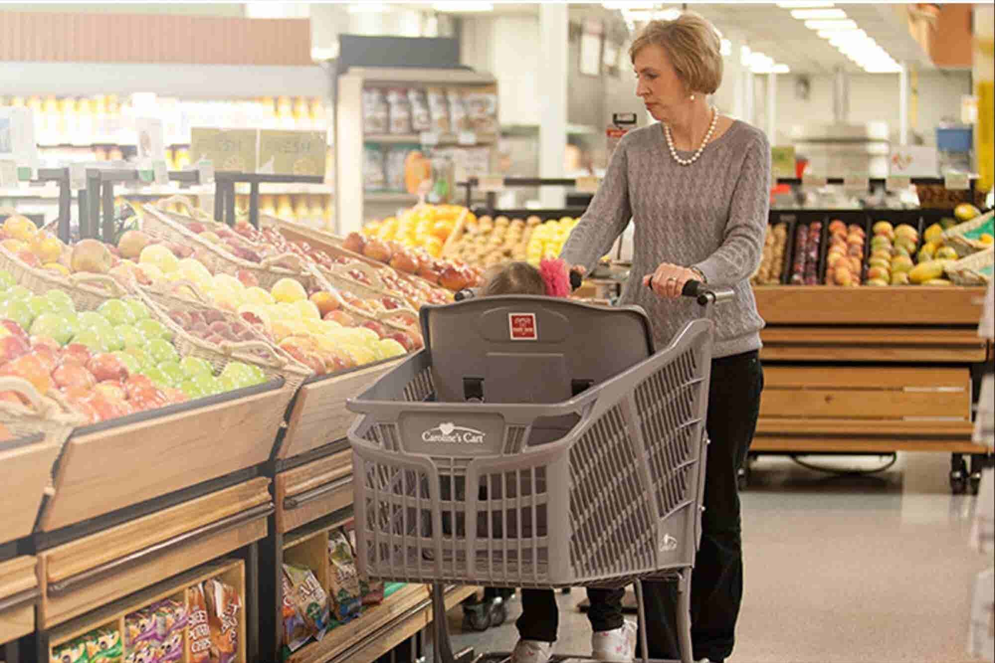 The Grocery Cart Making Life Easier for Special Needs Families