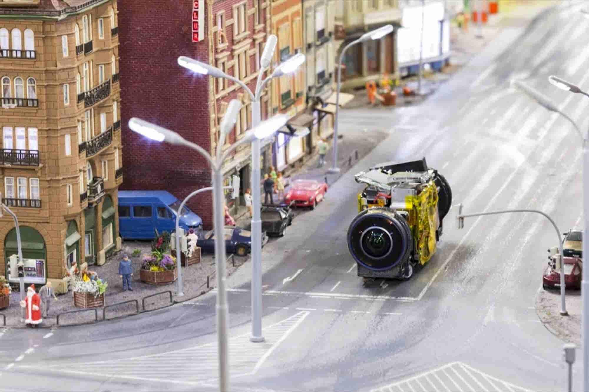 Google Uses Tiny Cameras to Capture Adorable Mini Street View