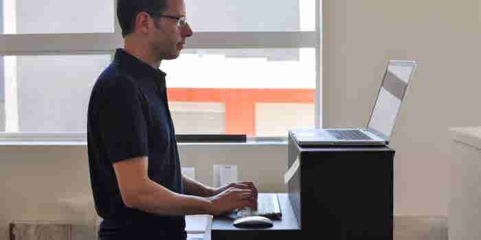 Meet the $25 Standing Desk Made of Collapsible Cardboard