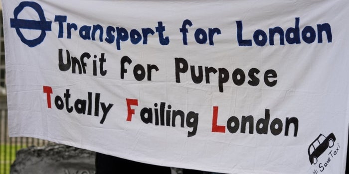 London Cabbies Crowdfund to Fight Uber