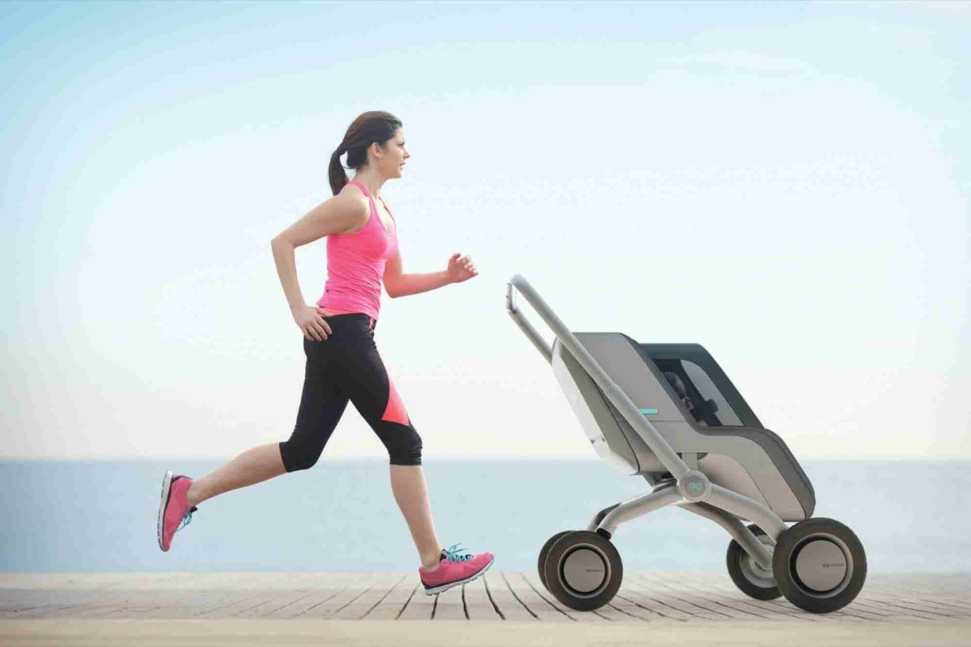 A 'Self-Propelling' Stroller Just Launched on Indiegogo
