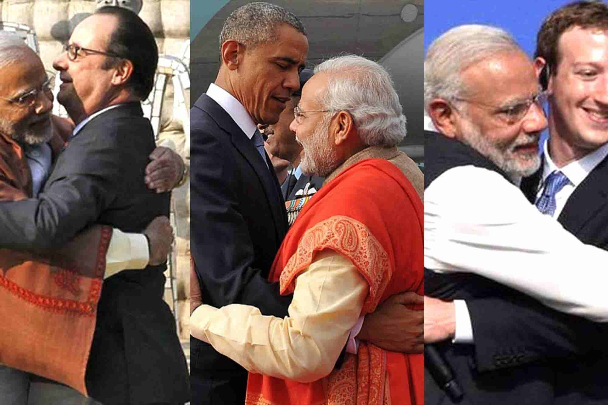 Hugging is not personal, it's business