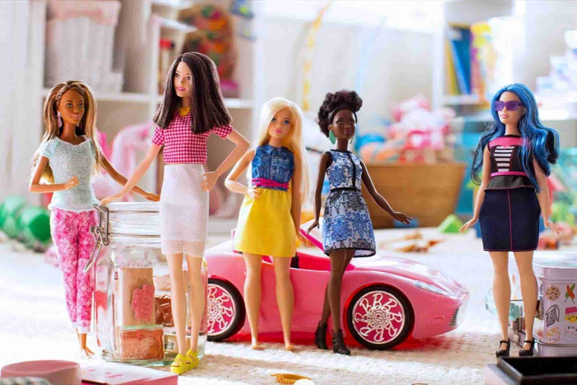 Mattel Introduces New Body Types for Barbie