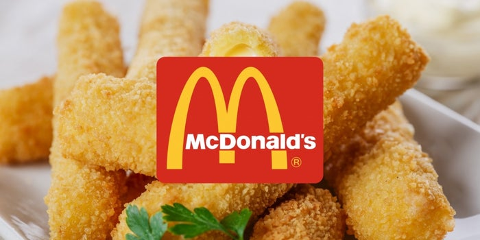 McDonald's Mozzarella Sticks Are at the Center of a New Lawsuit