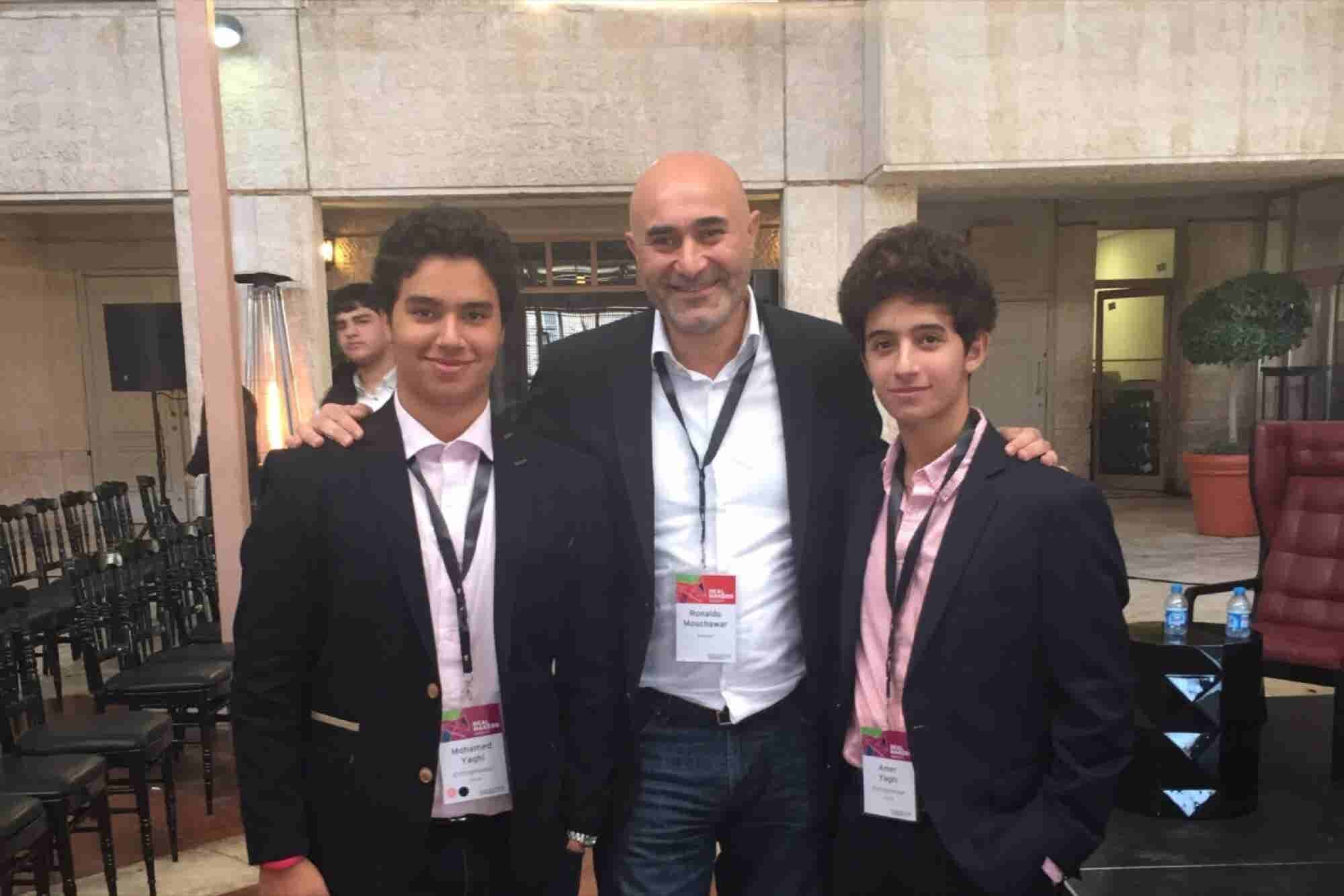 Bro Code: Teenage 'Treps Amer And Mohamed Yaghi