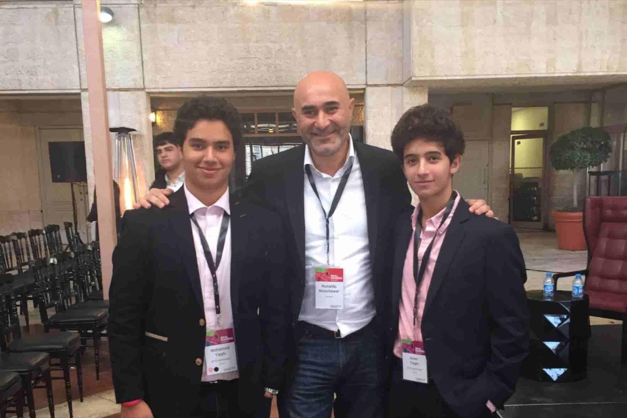 Bro Code: Teenage 'Treps Amer And Mohamed Yaghi