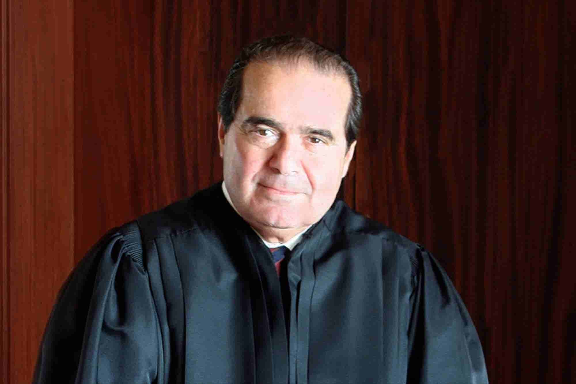 5 Inspirational, and Biting, Quotes From Antonin Scalia