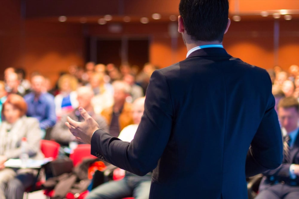 Attend industry conferences