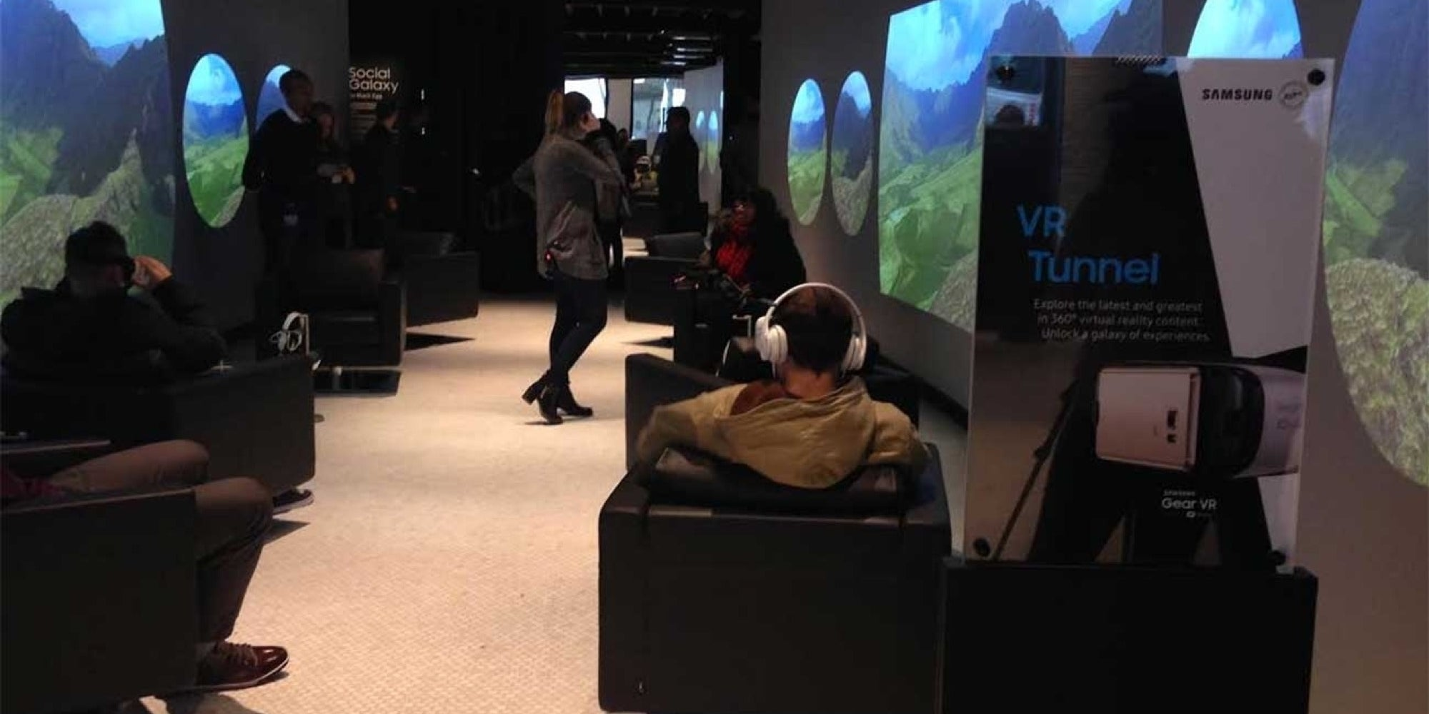 We Took a Tour of Samsung's Cool Tech-Infused Space in NYC