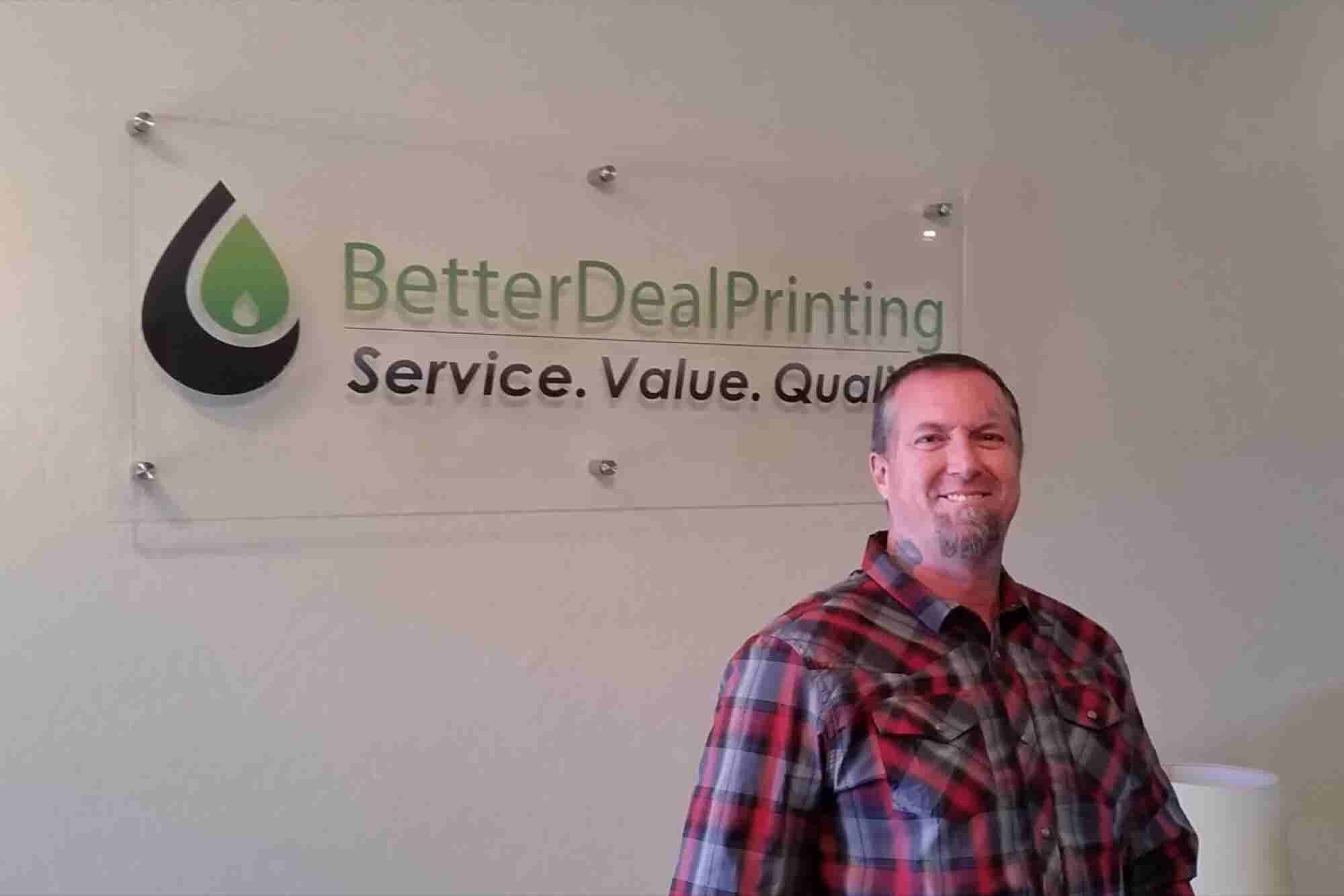 How the Printing Biz Was a Better Deal for This U.S. Military Veteran