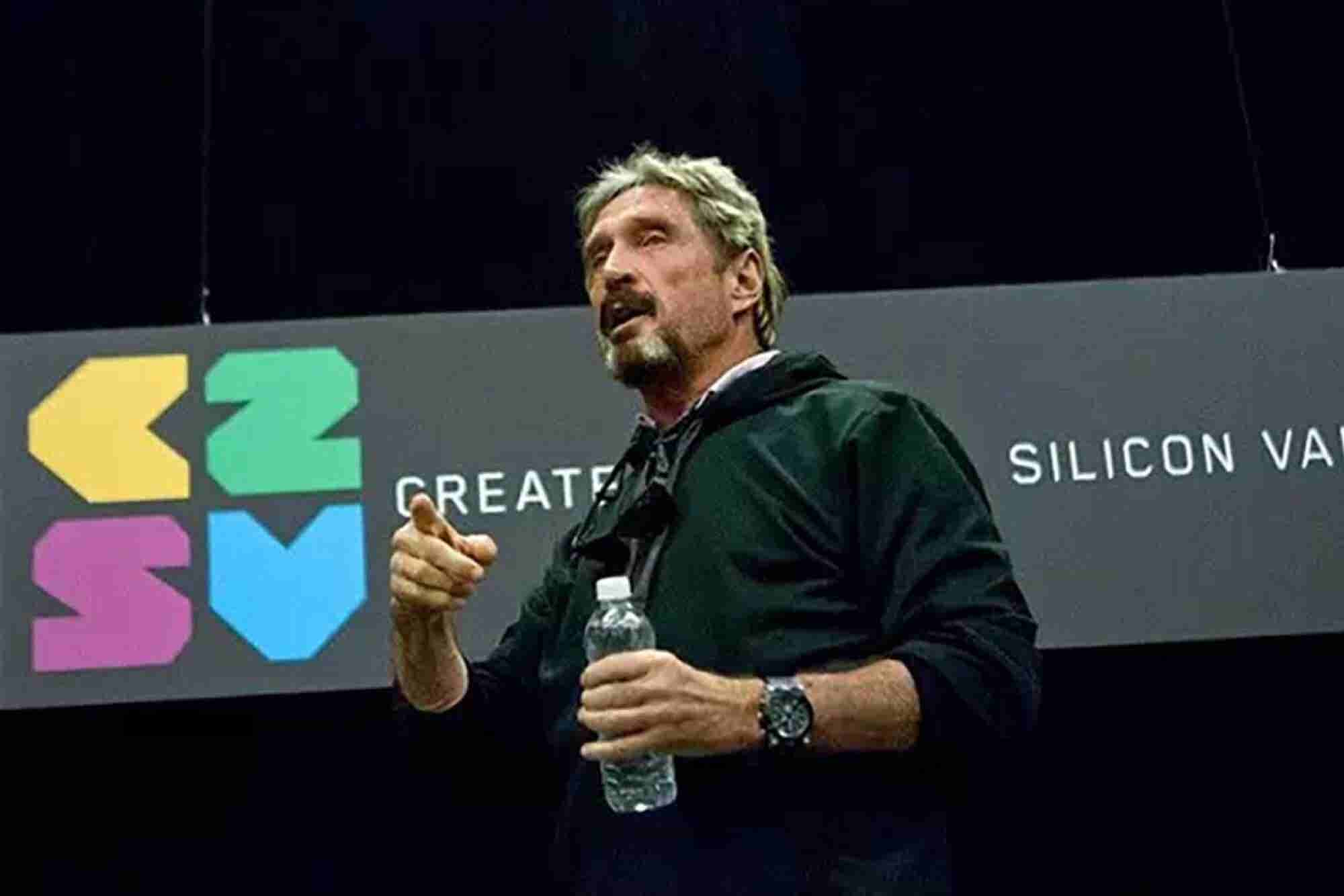 Are Security Threats to Power and Water Plants Real? You Betcha, Says John McAfee.