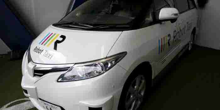 Japan Driverless Taxi Startup Eyes Partnerships With Automakers