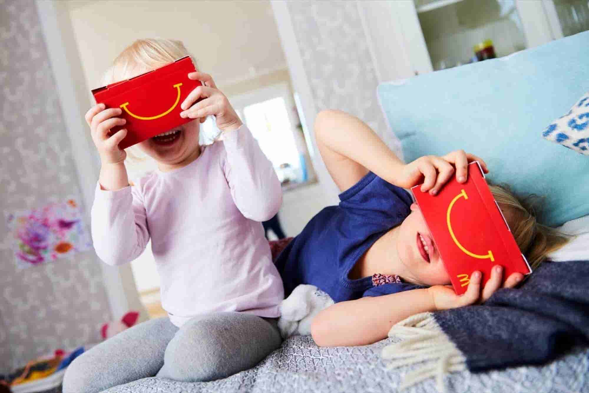 New McDonald's Happy Meal Boxes Turn Into Virtual Reality Headsets