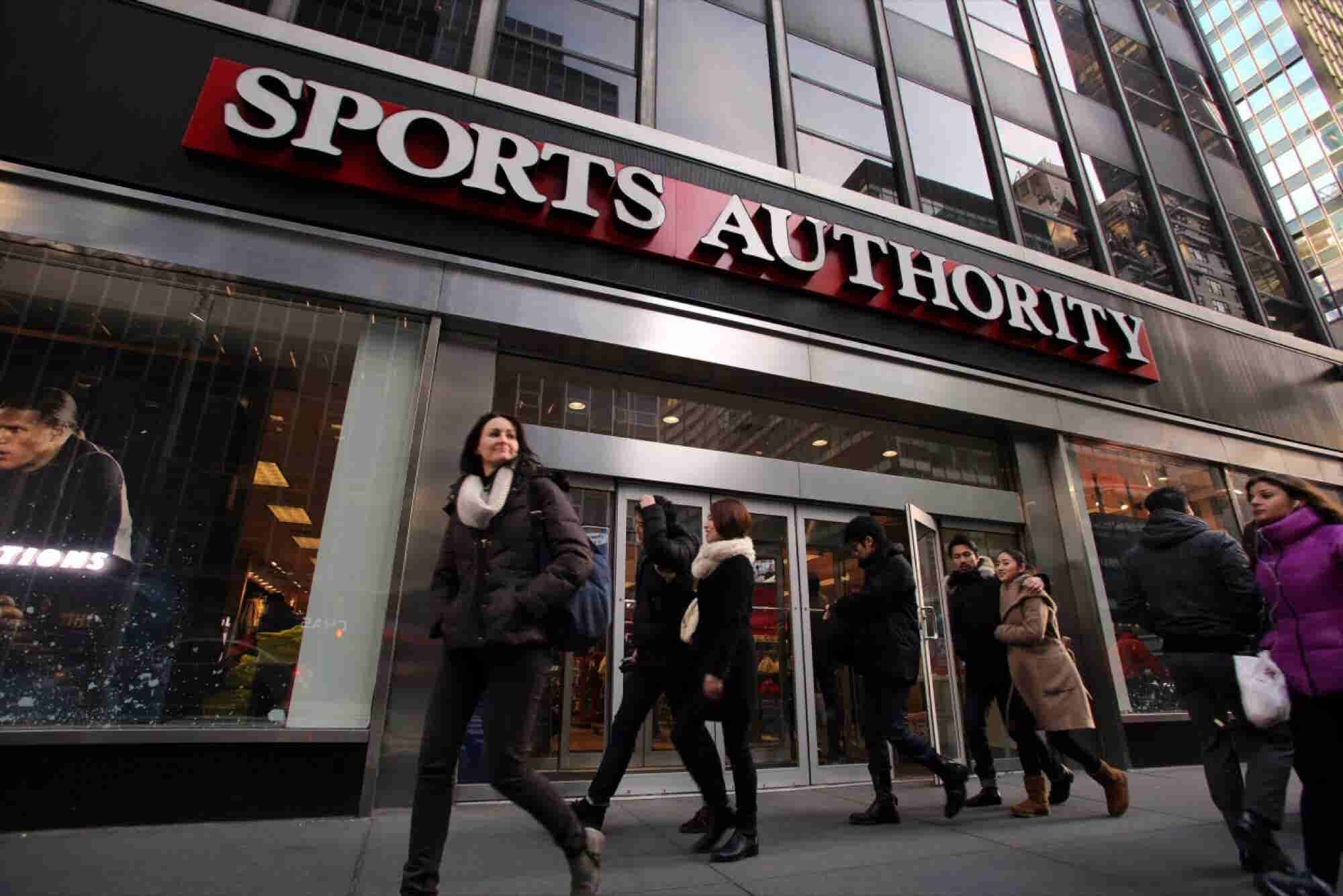 Sports Authority Files for Chapter 11 Protection