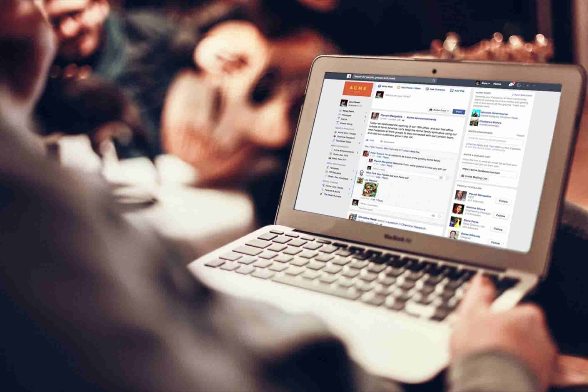 How Facebook's Social Network for Work Will Change Business