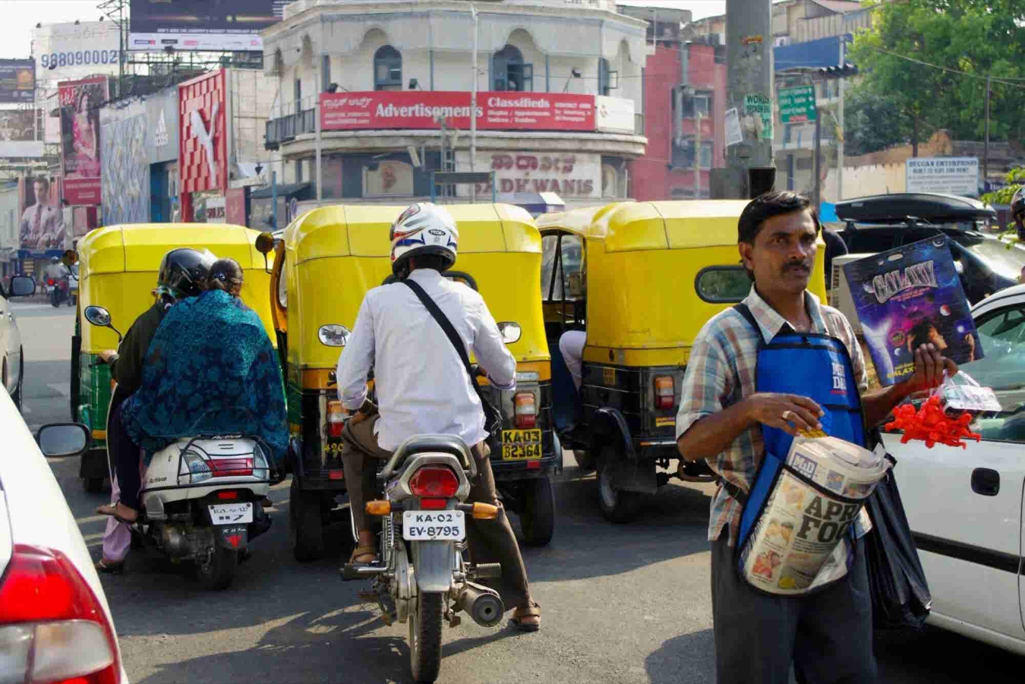 Uber and Competitor Launch Motorcycle Services in India on the Same Da...