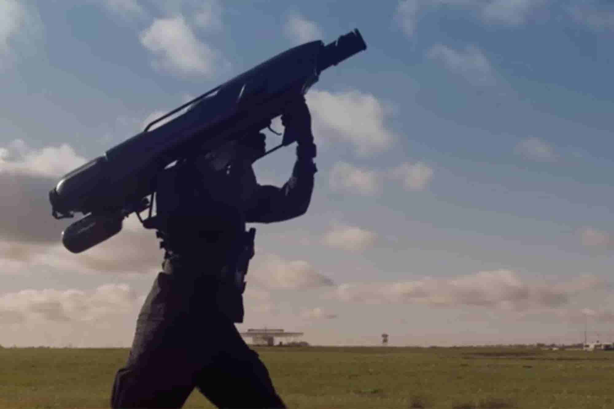 Video: This Cannon Shoots Nets to Take Down Pesky Drones