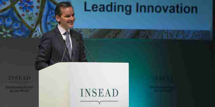 INSEAD Chairman Dr. Andreas Jacobs On Executive Education, Entrepreneurship And The Middle East