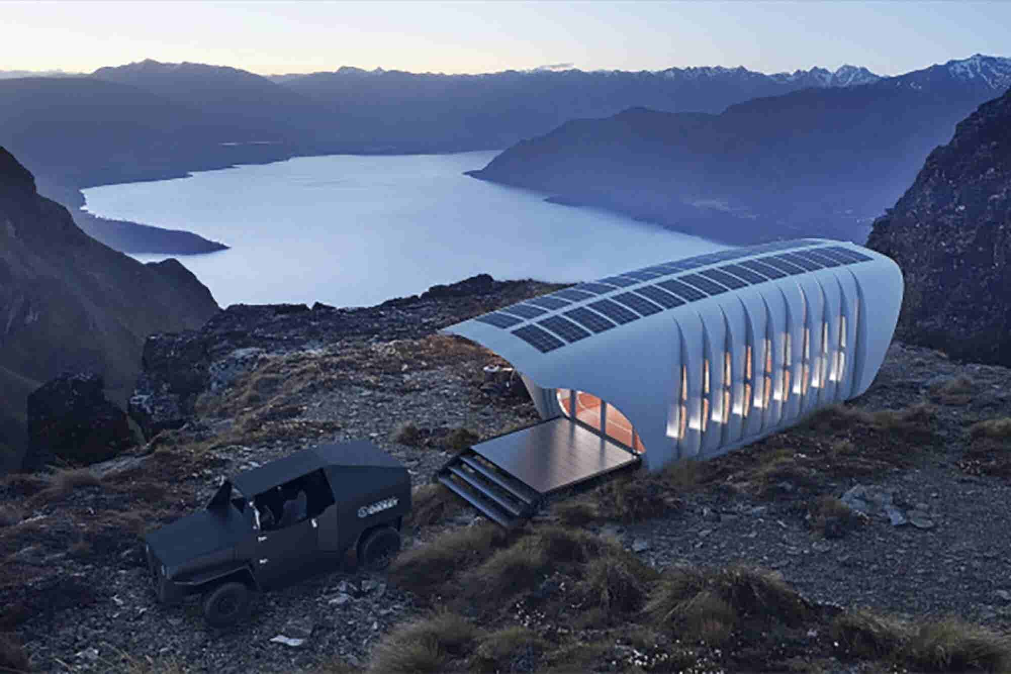 Check Out This Super Cool Sustainable 3-D Printed House and Car Combo